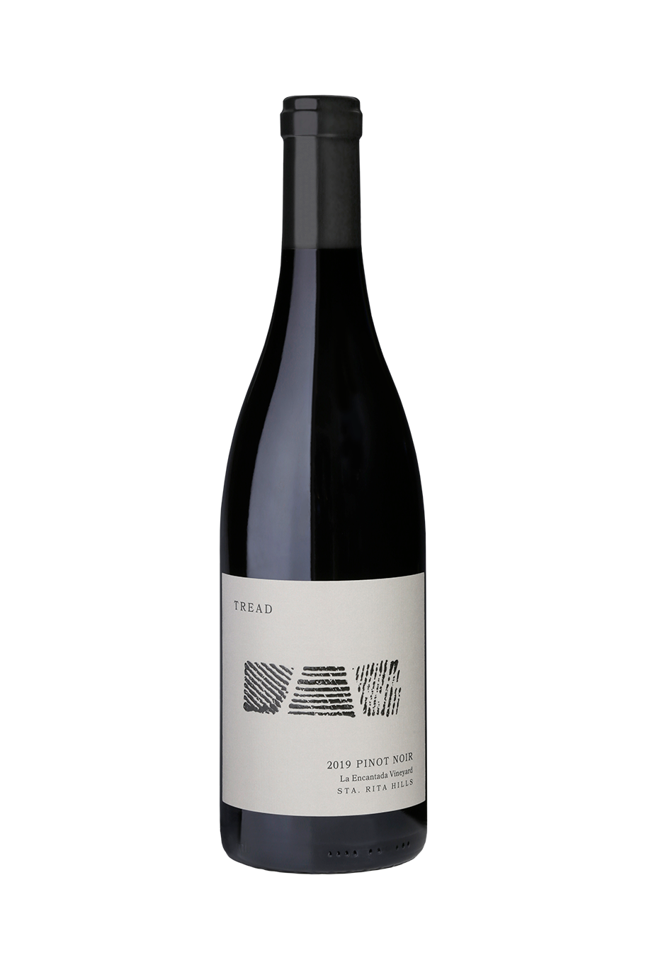 2019 TREAD La Encantada Pinot Noir Bottle Shot
