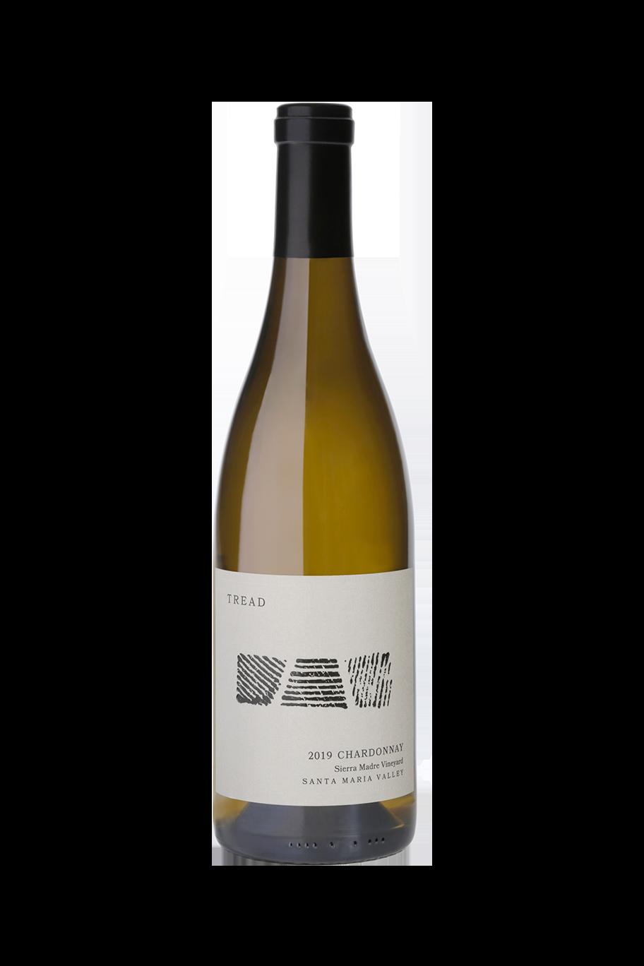 2019 TREAD Santa Maria Valley Chardonnay Bottle Shot